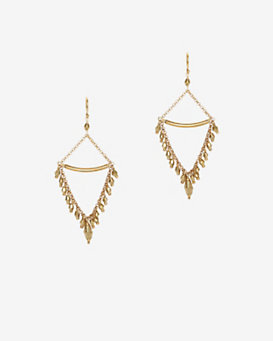 Chan Luu Beaded Chain Earrings