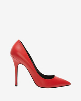 Jean-Michel Cazabat Elle Red Leather Pump