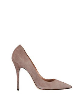 Jean-Michel Cazabat Elle Pointy Toe Suede Pump: Taupe