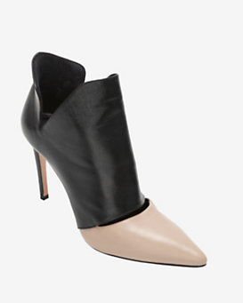 Jean-Michel Cazabat Eva Leather Bootie