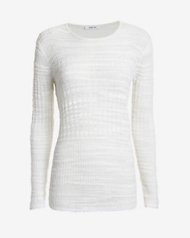 Helmut Lang Erroded Thread Sweater