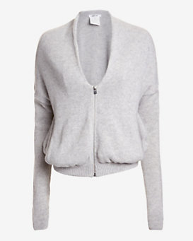 Helmut Lang EXCLUSIVE Tress Cropped Cashmere Jacket