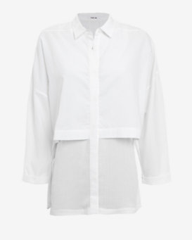 Helmut Lang Lawn Double Layered Shirt