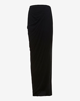 Helmut Lang EXCLUSIVE Side Slit Jersey Skirt