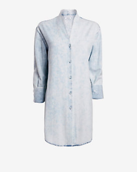 Helmut Lang Mist Buttondown Shirt: Razor Wash