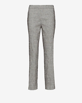Theory Thaniel Crop Pant: Grey