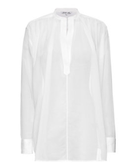 Helmut Lang Cotton Voile Poet Shirt