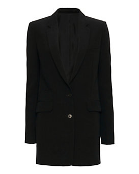 Helmut Lang Tech Stretch Suiting Blazer