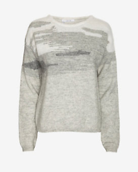 10 Crosby Derek Lam Mohair Crew Neck Sweater