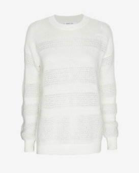 10 Crosby Derek Lam Patchwork Mohair Sweater