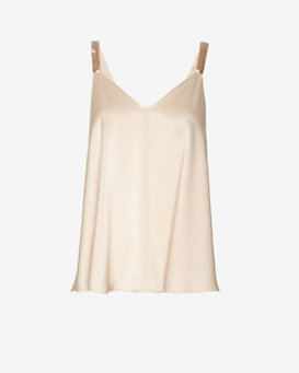 Derek Lam 10 Crosby EXCLUSIVE Beaded Strap Top