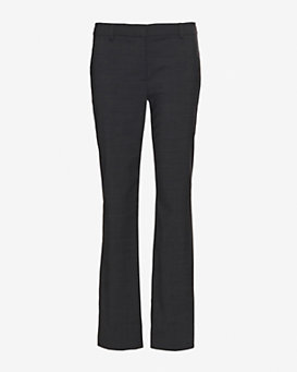Derek Lam 10 Crosby Stretch Wool Crop Leg Trouser