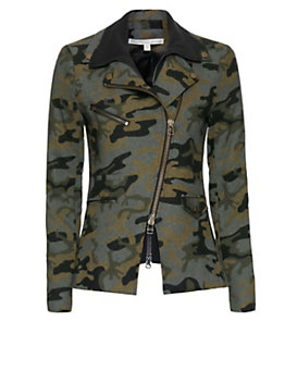 Veronica Beard Hadley Camo Jacket