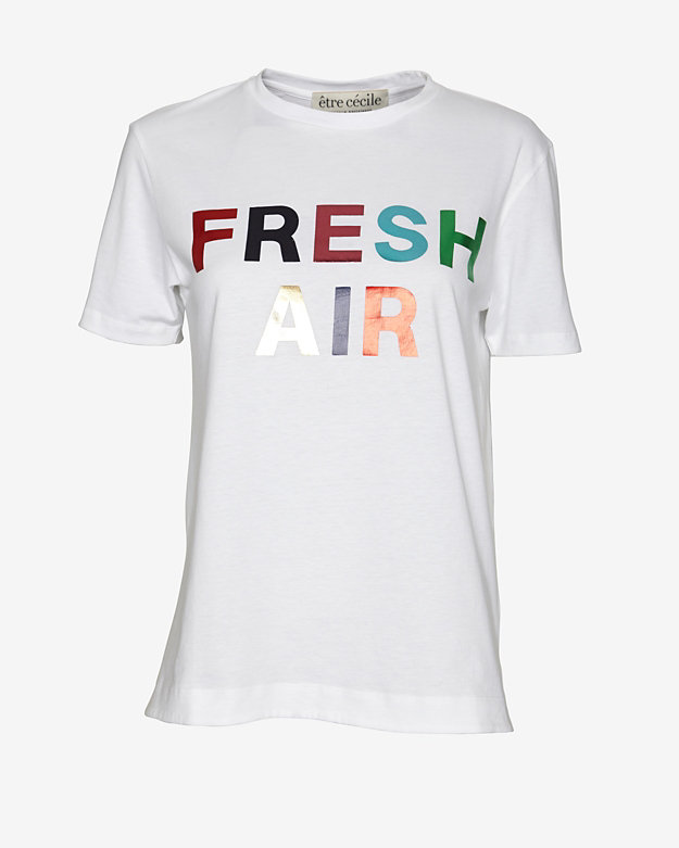 etre cecile Fresh Air Graphic Tee