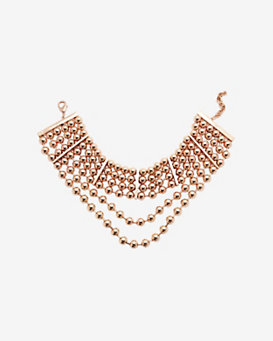 Fallon Shalom High-Neck Beaded Choker