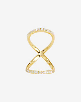 Fallon Pave Infinity Ring