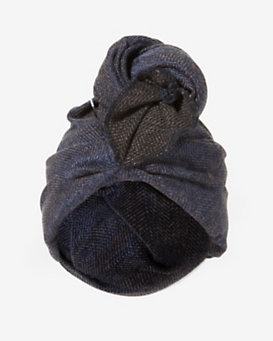Super Duper Knotted Turban