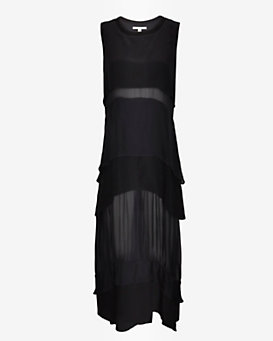 Jonathan Simkhai Airplane Layer Maxi Dress