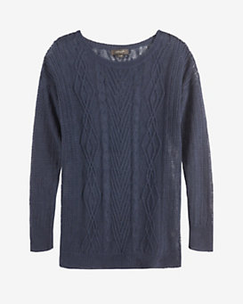 Christopher Fischer Loose Cableknit Sweater