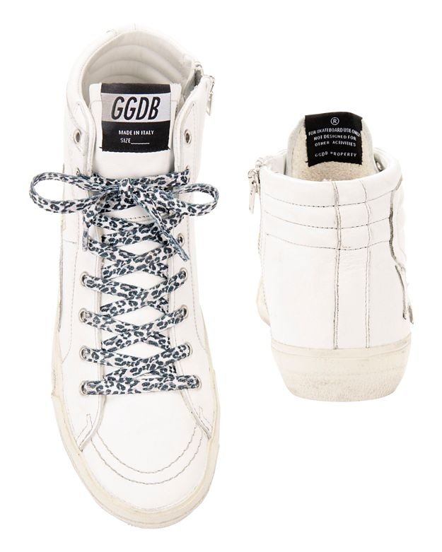 GOLDEN GOOSE Leather Slide Sneakers