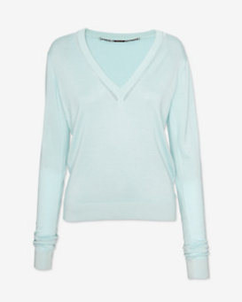 Barbara Bui Cashmere V Neck Sweater