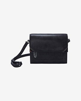 Barbara Bui Flap Box Bag: Black