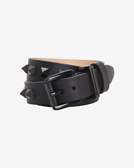 Barbara Bui Studded Belt Bracelet: Black