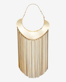 Monica Sordo Goddess Fringe Necklace