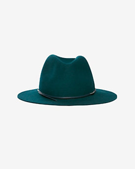 Hat Attack Avery Modern Wool Felt Fedora