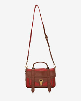 Proenza Schouler PS1 Tiny Satchel: Preppy Red
