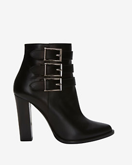 Barbara Bui Triple Buckle Bootie
