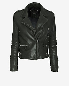 Barbara Bui New Vintage Leather Jacket