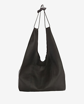 KARA Shoulder Fairway Shopper: Black