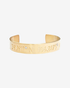 Coordinates Collection Diamond Punctuation Horizon Aspen Cuff