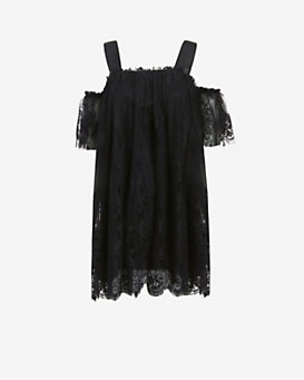Alexis Off-the-Shoulder Lace Dress