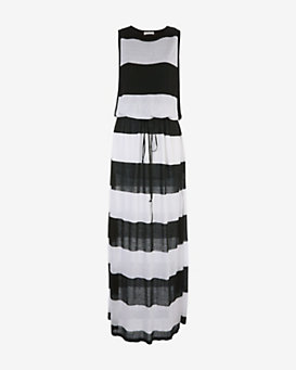 A.L.C. EXCLUSIVE Brooke Stripe Maxi Dress