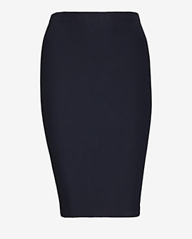 Nadia Tarr Rib Pencil Skirt