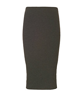 Nadia Tarr EXCLUSIVE Ribbed Pencil Skirt