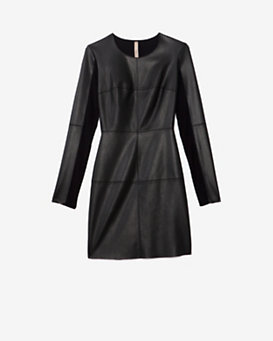 Bailey 44 EXCLUSIVE Mixed Media Dress: Black