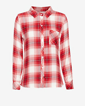 Rails EXCLUSIVE Plaid Shirt: Red
