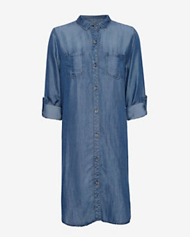 Rails EXCLUSIVE Dark Denim Shirt Dress