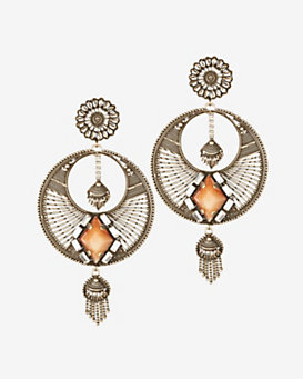 Dannijo Iva Chandelier Earrings