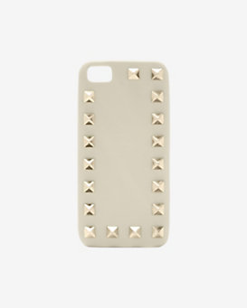 Valentino Rockstud iPhone 5 Case: Ivory