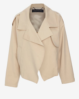 Barbara Bui Crop Trench Jacket