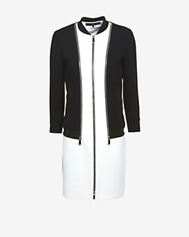 Barbara Bui 2 in 1 Zip Off Jacket Dress