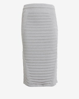 Jonathan Simkhai Ribbed Pencil Skirt