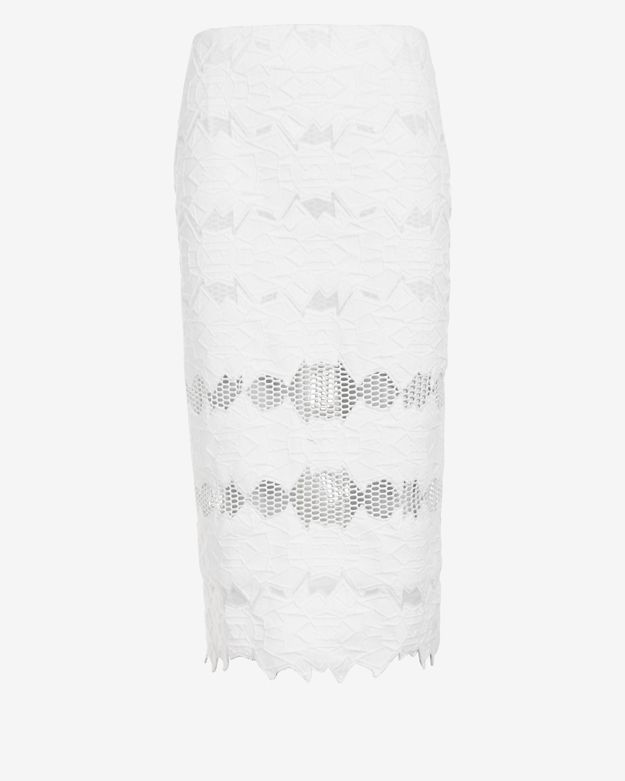 Jonathan Simkhai EXCLUSIVE Brocade Pencil Skirt