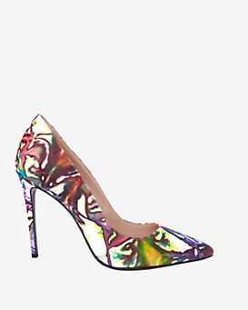 Barbara Bui Abstract Printed Pump