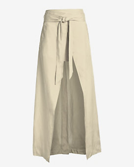 Barbara Bui Maxi Wrap Skirt