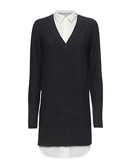 Brochu Walker EXCLUSIVE Blouse Detail Sweater Dress